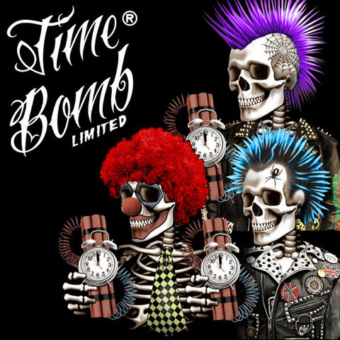 Time Bomb Vapors Limited - Sid (Raspberry Grape)