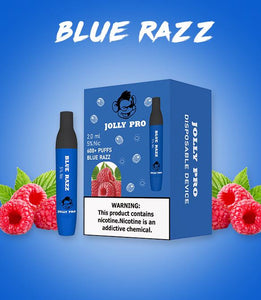 Jolly Pro - Pod Disposable Device Blue Razz