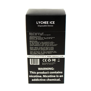 Vibe Bar - Vape Bar Disposable Lychee Ice For Sale