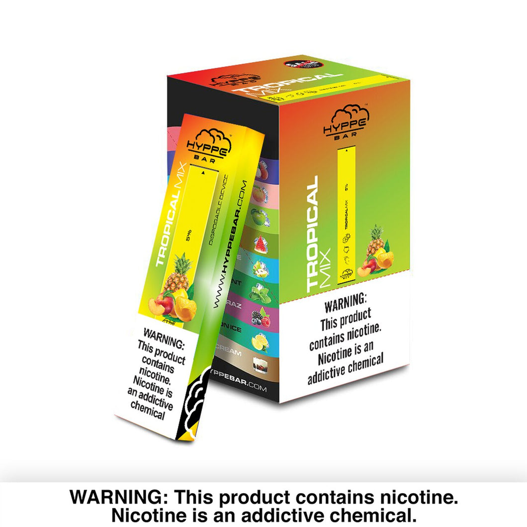 Hyppe Bar - Vape Bar Disposable Tropical Mix For sale