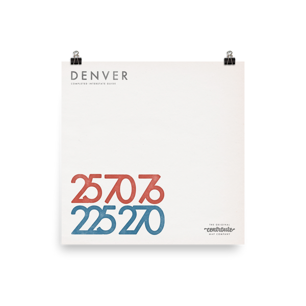 Denver Numbered