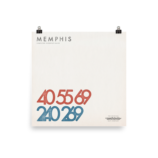 Memphis Numbered