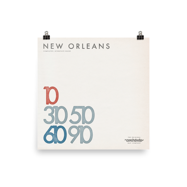 New Orleans Numbered
