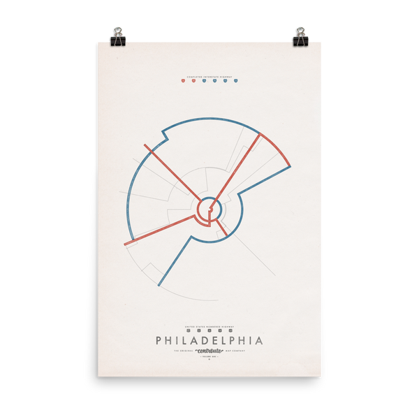Philadelphia Centroute Map