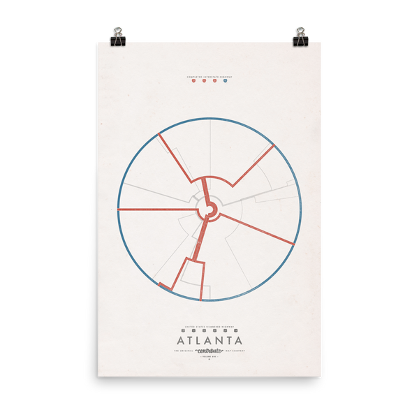 Atlanta Centroute Map