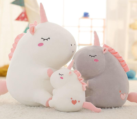 Magnificent, smooth unicorn stuffed toy