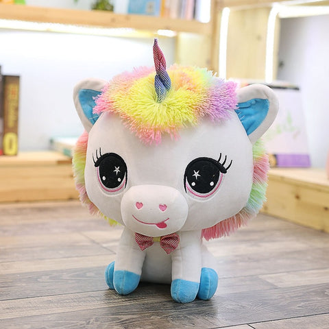 MAGNIFICENT KAWAII RAINBOW UNICORN STUFFED TOY