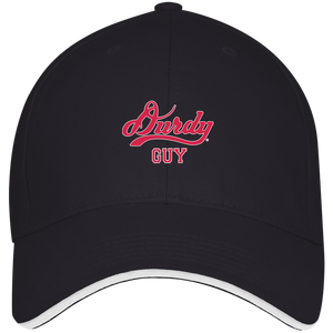 Durdy Guy Bayside USA Made Structured Twill Cap With Sandwich Visor
