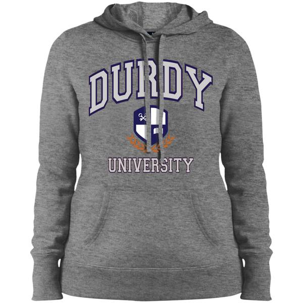 Durdy University Sport-Tek Ladies' Pullover Hooded Sweatshirt