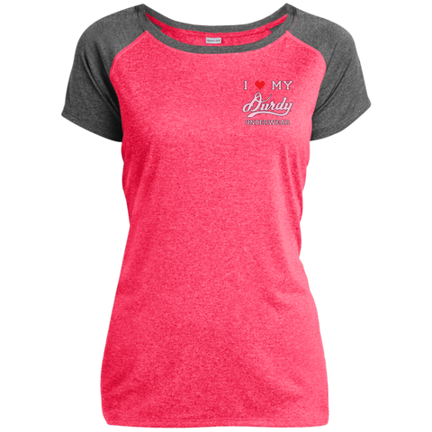Durdy Underwear Sport-Tek Ladies Heather on Heather Performance T-Shirt