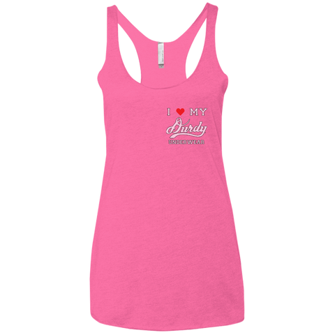 Durdy Underwear Next Level Ladies' Triblend Racerback Tank