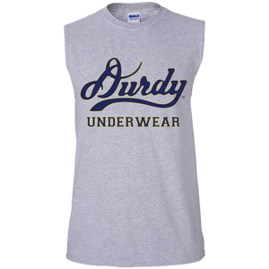 Durdy Underwear Gildan Men's Ultra Cotton Sleeveless T-Shirt