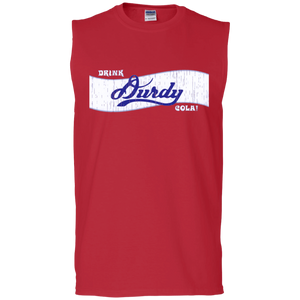 Durdy Cola Gildan Men's Ultra Cotton Sleeveless T-Shirt