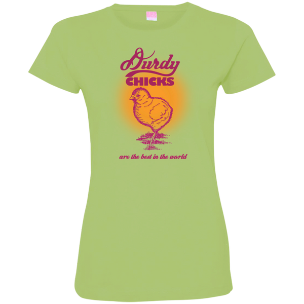 Durdy Chicks LAT Ladies' Fine Jersey T-Shirt
