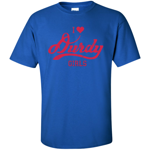 Love Durdy Girls Gildan Tall Ultra Cotton T-Shirt