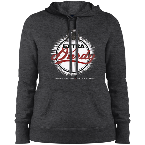 Extra Durdy Sport-Tek Ladies' Pullover Hooded Sweatshirt