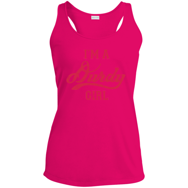 Durdy Girl Sport-Tek Ladies' Racerback Moisture Wicking Tank