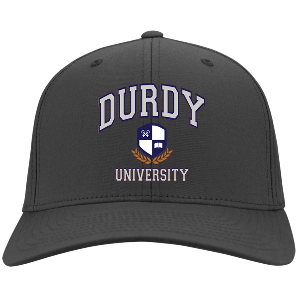 Durdy University Port & Co. Twill Cap