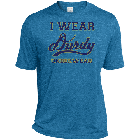 I Wear Durdy Underwear Sport-Tek Heather Dri-Fit Moisture-Wicking T-Shirt