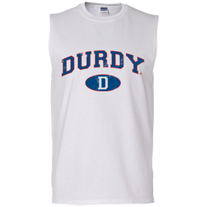 Durdy D Gildan Men's Ultra Cotton Sleeveless T-Shirt