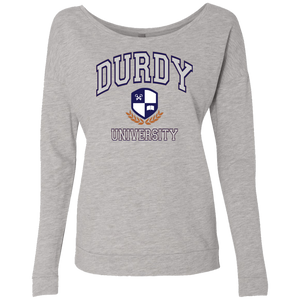 Durdy University Next Level Ladies' French Terry Scoop