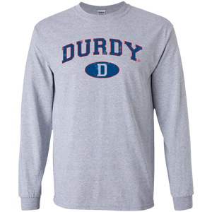 Durdy D Gildan LS Ultra Cotton T-Shirt