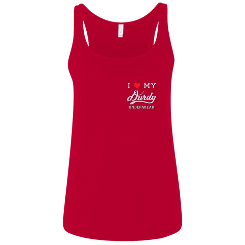 Durdy Underwear Bella + Canvas Ladies' Relaxed Jersey Tank