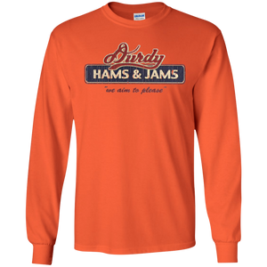 Durdy Hams & Jams Gildan LS Ultra Cotton T-Shirt