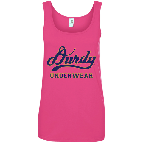 Durdy Underwear Anvil Ladies' 100% Ringspun Cotton Tank Top