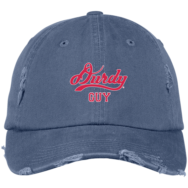 Durdy Guy District Distressed Dad Cap
