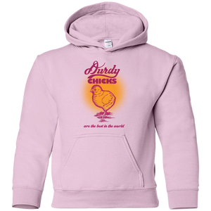 Durdy Chicks Gildan Youth Pullover Hoodie