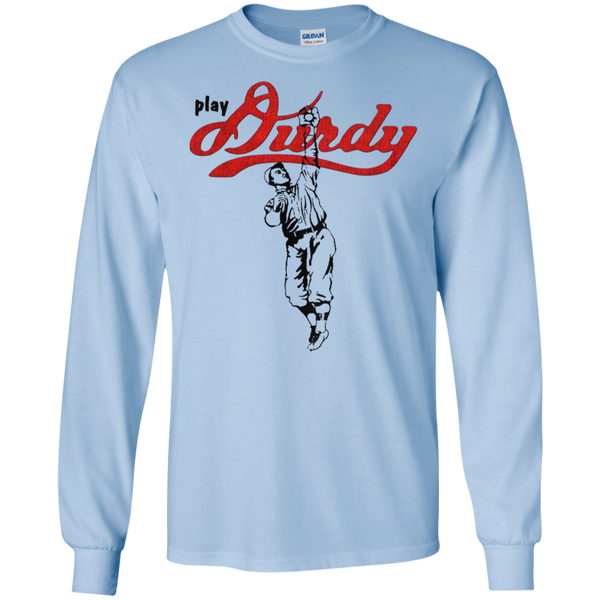 Play Durdy Gildan LS Ultra Cotton T-Shirt