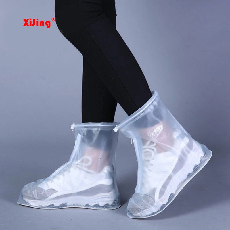 Waterproof Boots Cover For Men/Women's Reusable Shoes raincoat Thicker Non-slip