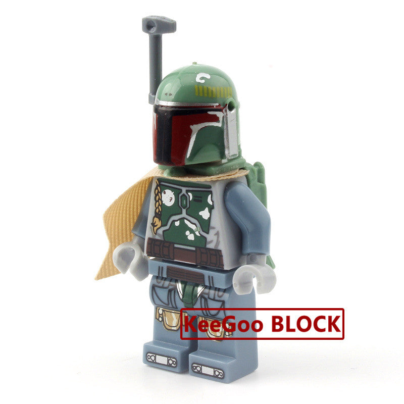 darth Vader R2D2 Leia Boba Fett Clone Trooper Kylo Ren figures Blocks Building Toys