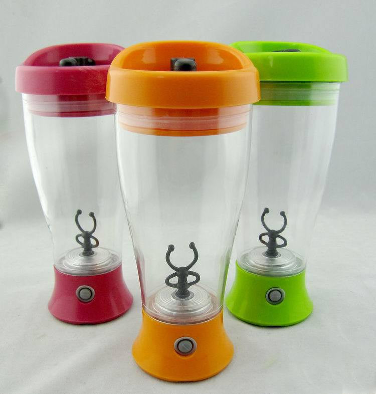 Electric protein shaker blender water bottle automatic movement vortex tornado bpa free