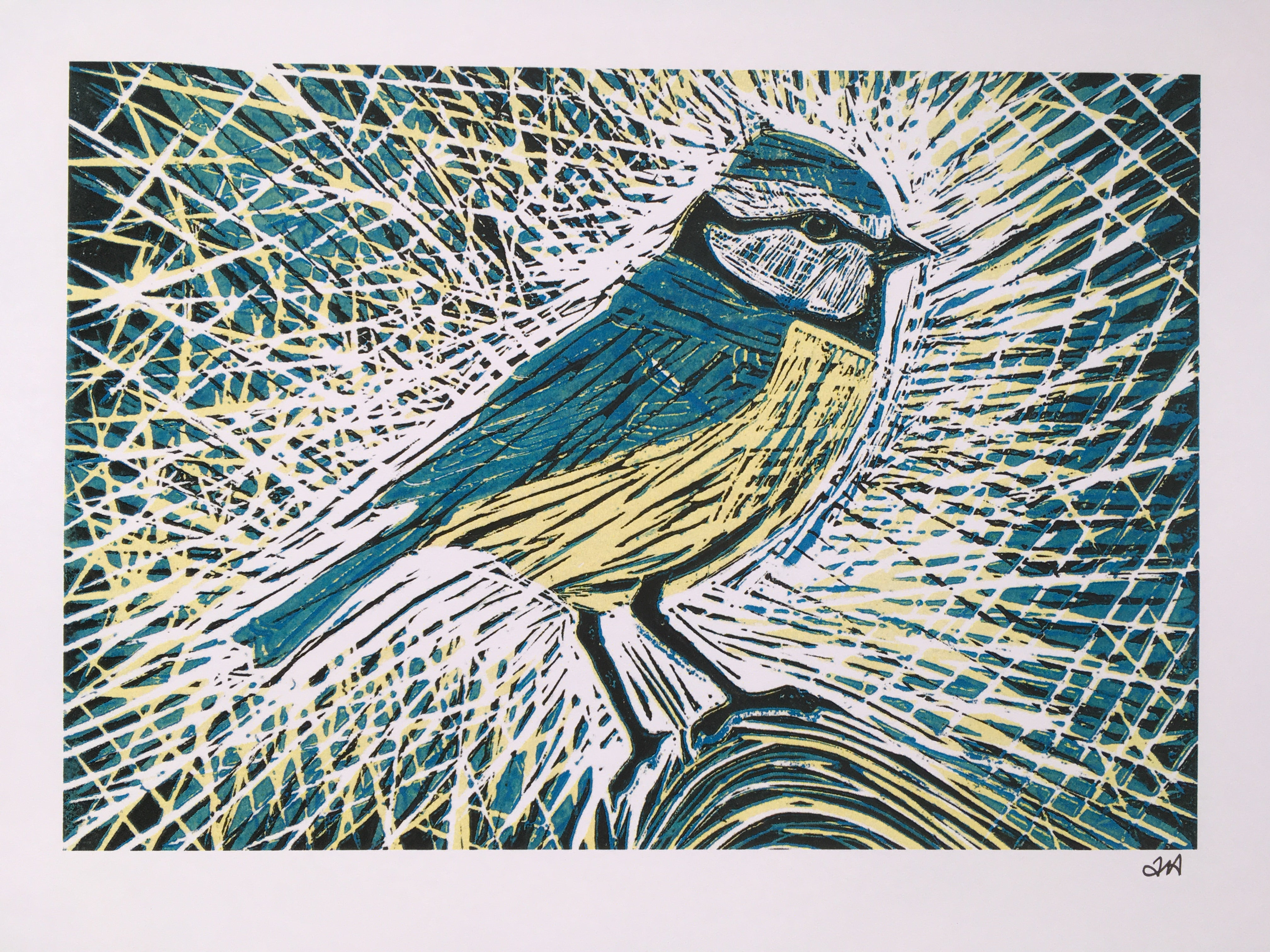 Multi - Block Linocut Printing Weekend with Alix Almond