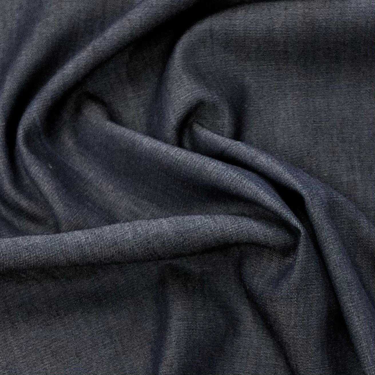Navy Cotton Cambray Fabric