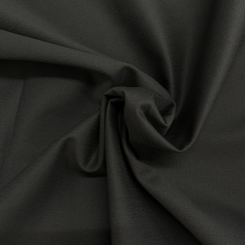 Sateen Stretch cotton fabric in Platinum