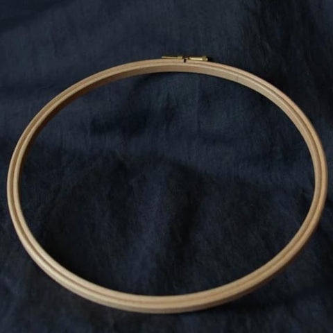 "8"" (20.5cm) Wooden Embroidery Hoop"