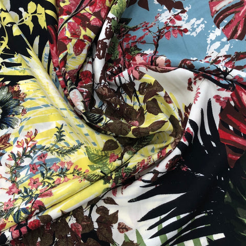 Digital Leaf Print Viscose