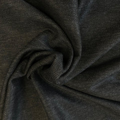 Herringbone Suiting Viscose Mix Charcoal