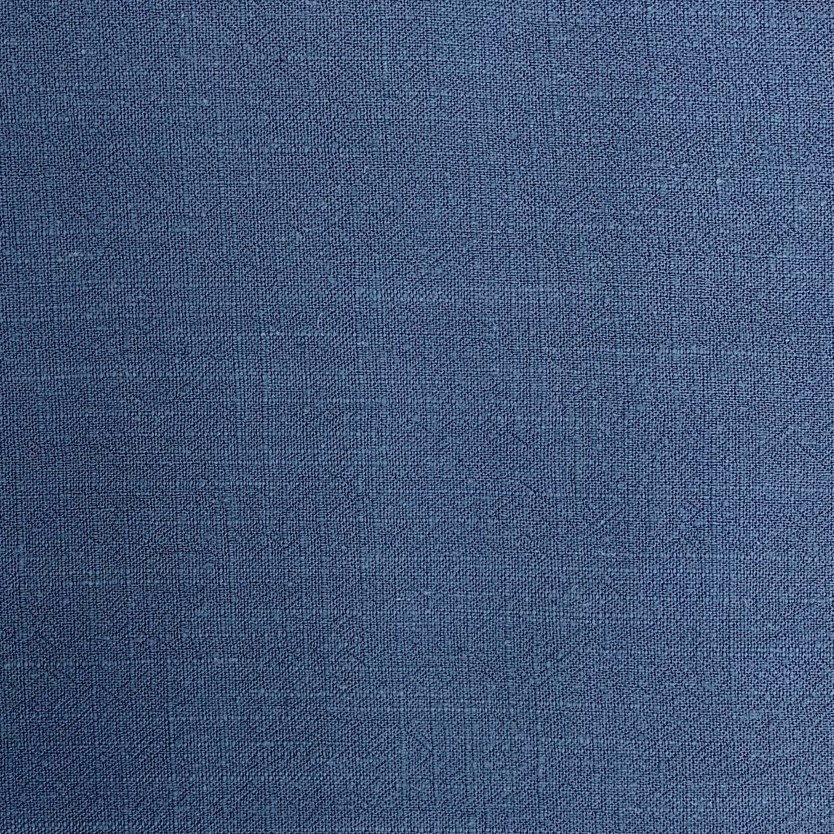 Denim Blue Viscose Linen