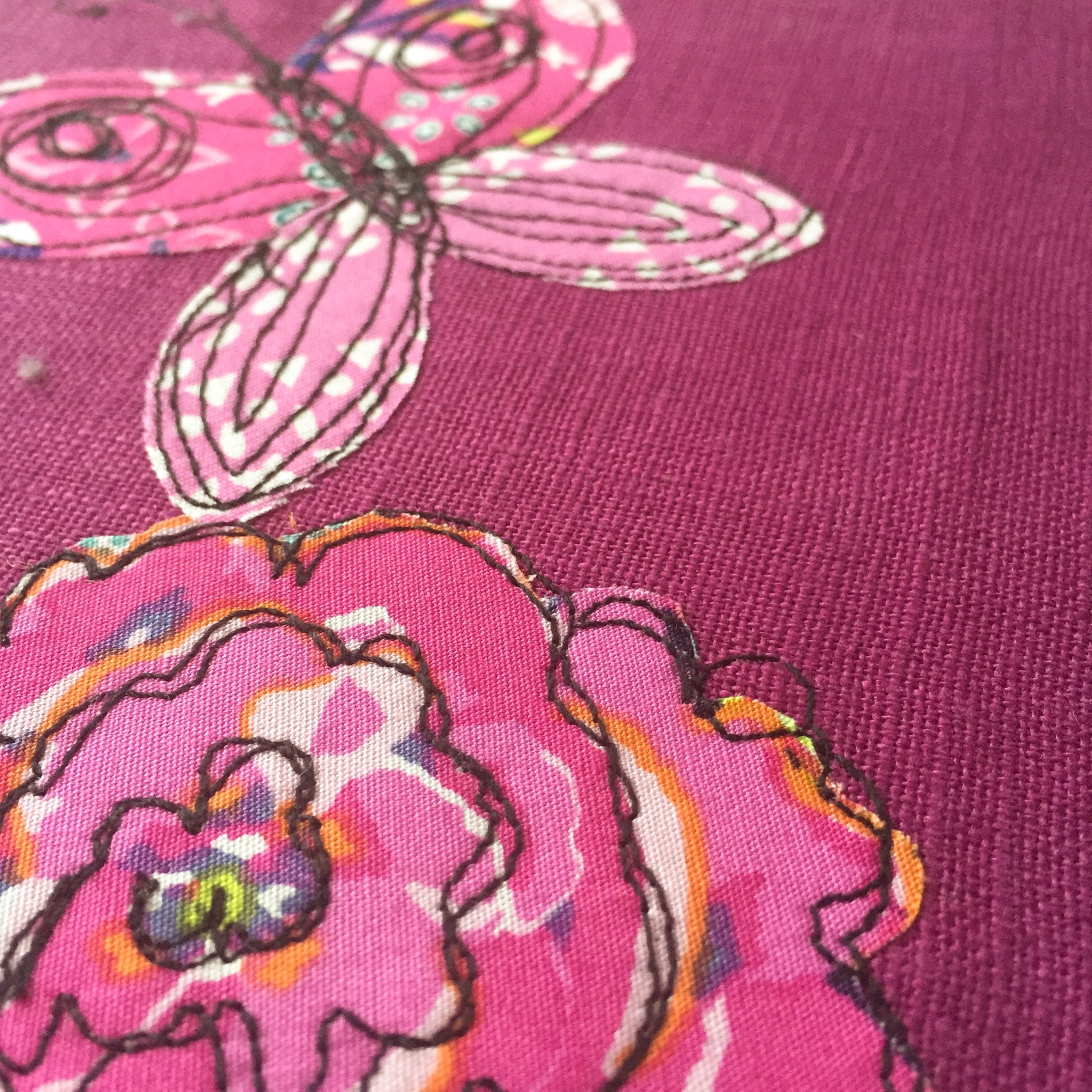 Draw with a Sewing Machine