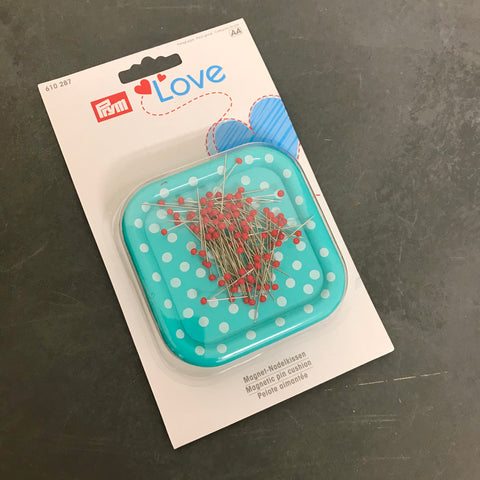 Prym Love Magnetic Magnetic Pincushion - with Pins