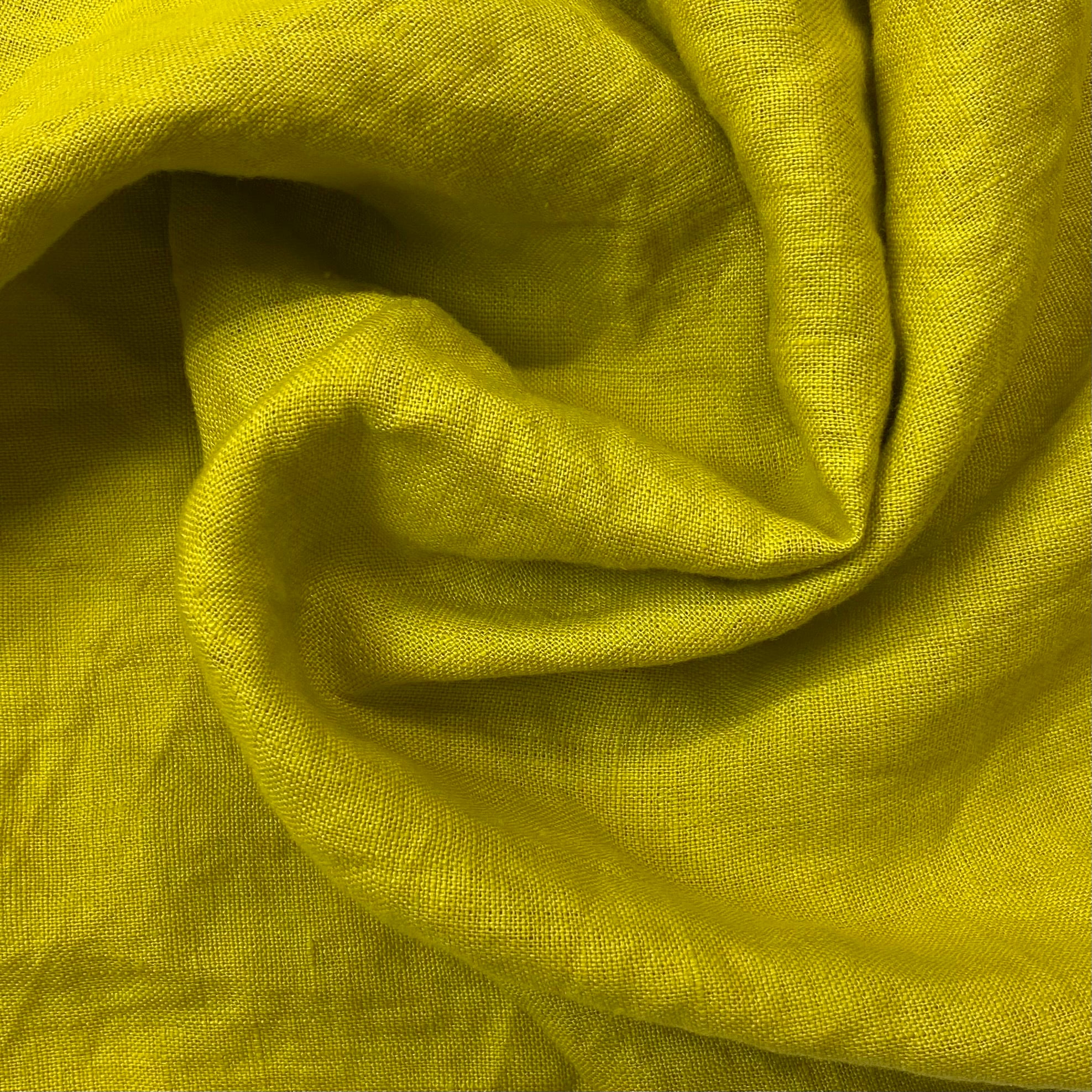 Laundered Linen Chartreuse