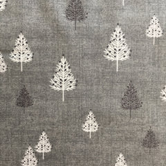 Makower Scandi Trees Grey