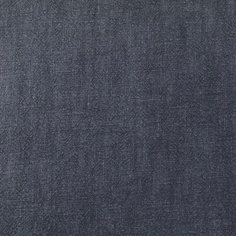 Navy Washed Ramie Linen Fabric