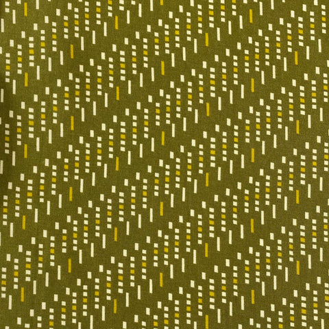 Dots and Dashes Viscose Fabric