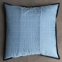 Half Square Triangle Quilted Cushion