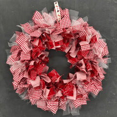 Scrappy Wreath Base Kit